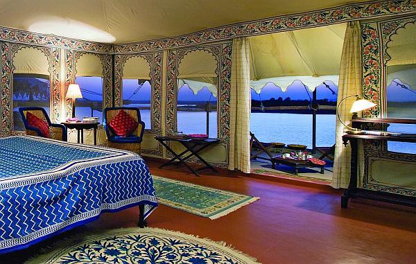 Chhatra Sagar - Tent interior smaller