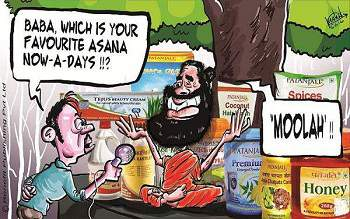 baba ramdev cartoon