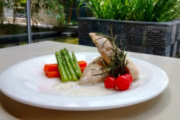 Sous Vide Chicken _Vivanta by Taj, Gurgaon